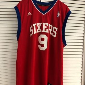 Retro Andre Iguodala Philadelphia 76ers Jersey.